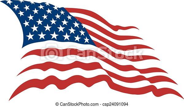 american flag - csp24091094