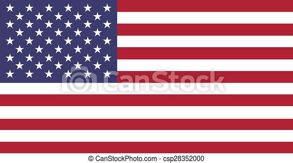 American Flag - csp28352000