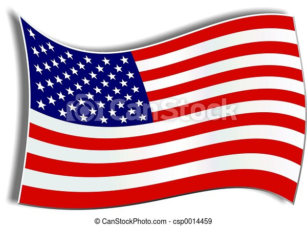 American Flag - csp0014459