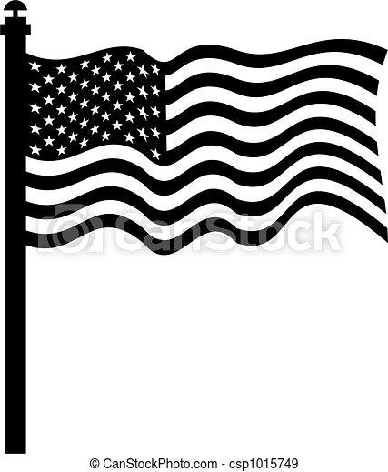 american flag - csp1015749