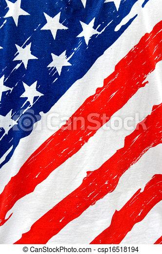 vertical of american flag grunge