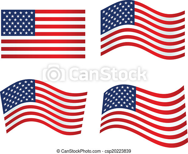 american flag patriotic background vector illustration vectors rh canstockphoto com united states flag waving vector united states flag waving vector