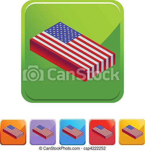 American Flag - csp4222252