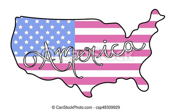 American Flag - csp48309929