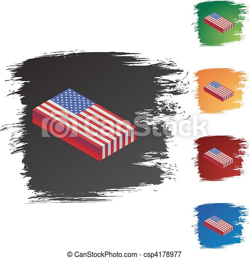 American Flag - csp4178977