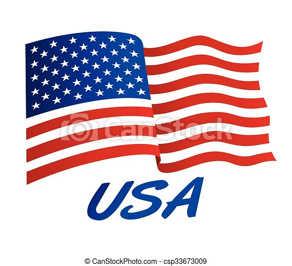 american flag in wind with usa vector clipart search rh canstockphoto com american flag graphics for motorcycle helmets american flag graphics for trucks