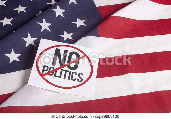 American Flag - No politics - csp29605100