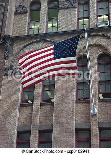 American flag - csp0182941
