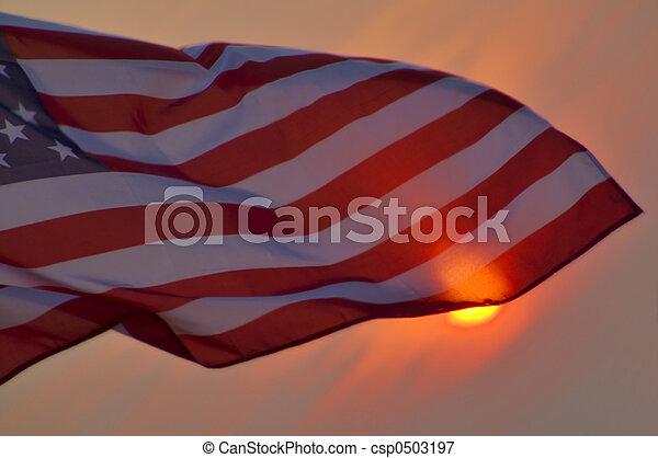 American Flag - csp0503197