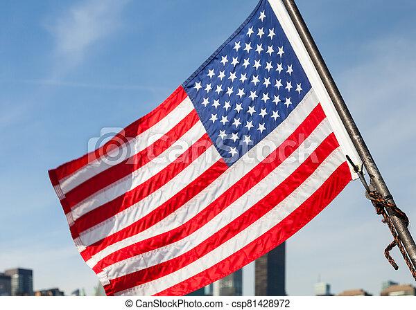 American Flag - csp81428972