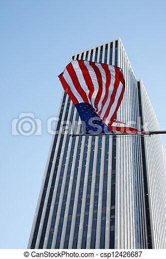American flag - csp12426687