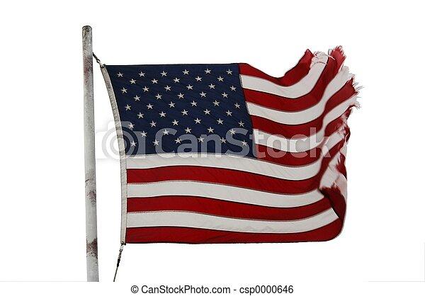 American flag - csp0000646