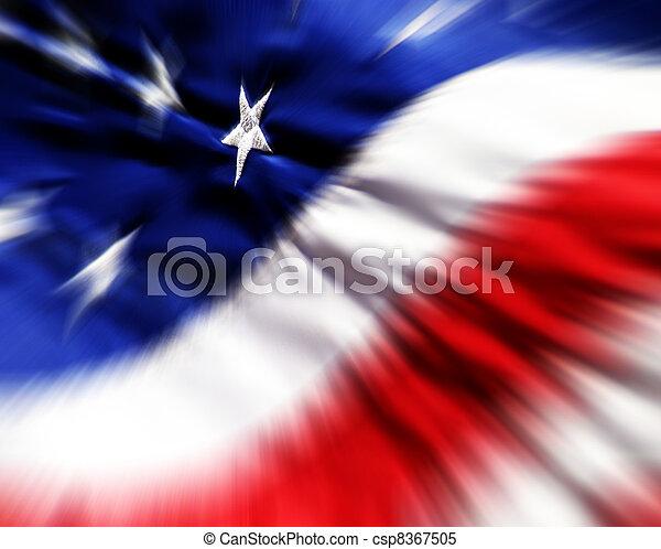 American Flag - csp8367505