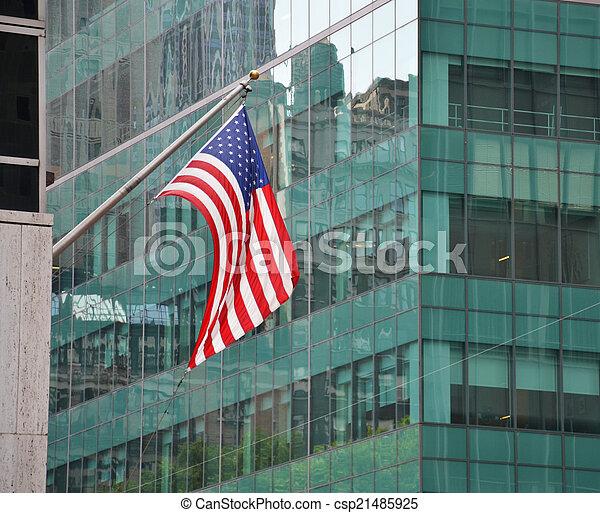 American flag - csp21485925
