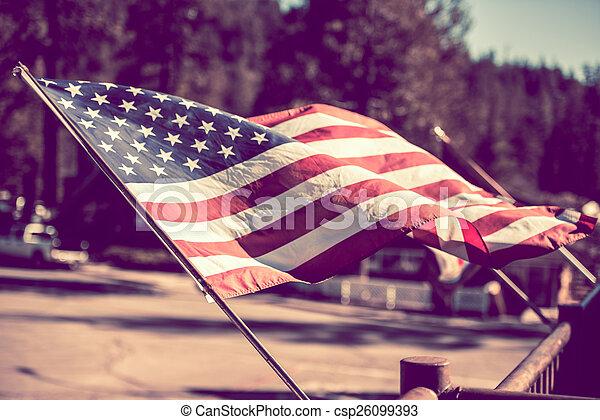 American Flag - csp26099393