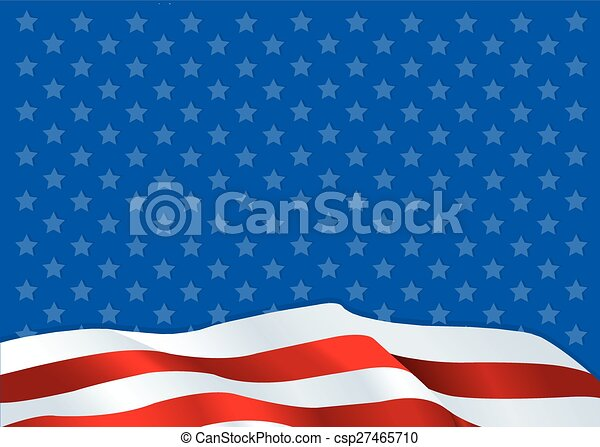 American flag - csp27465710