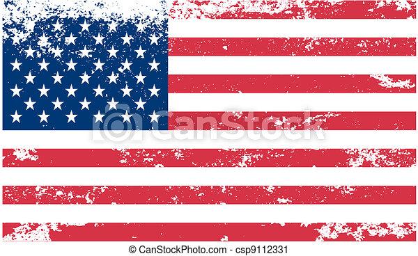 American flag - csp9112331