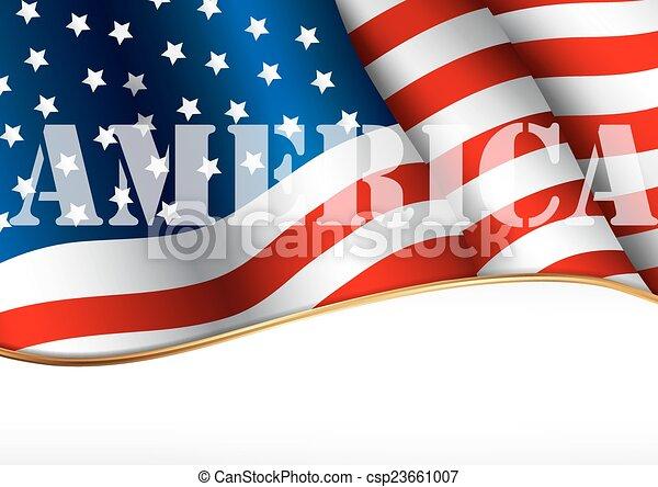 American flag - csp23661007