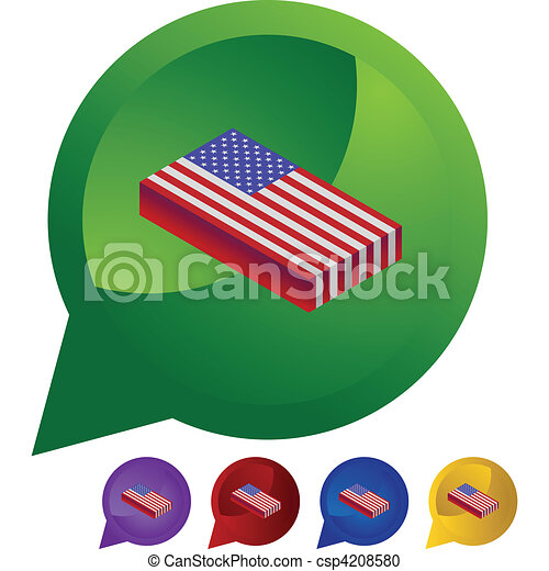 American Flag - csp4208580