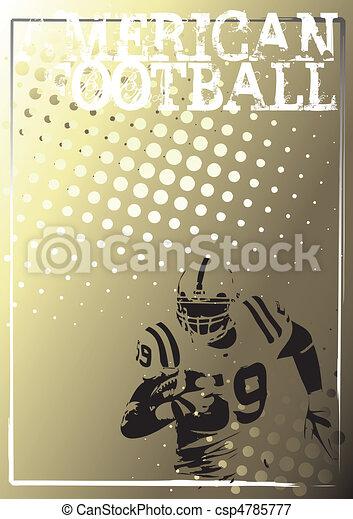 american football background 3 - csp4785777