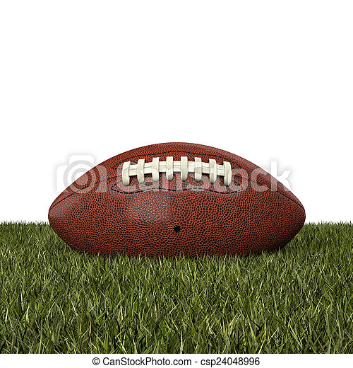 american football ball - csp24048996