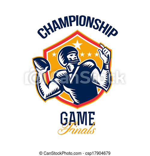 Football Finals Clipart And Stock Illustrations 2466 Vector EPS Drawings Available To Search From Thousands Of Royalty