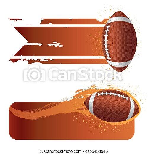 american football - csp5458945
