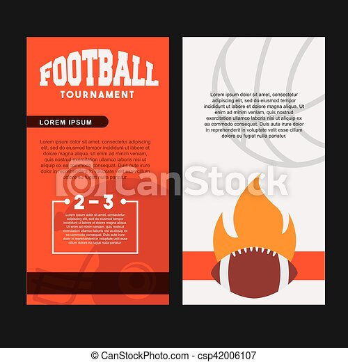 american football design - csp42006107