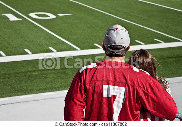 American Football Fans - csp11307862
