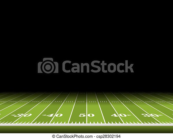 american football field background illustration a view from the rh canstockphoto com football field vector free download football field vector file
