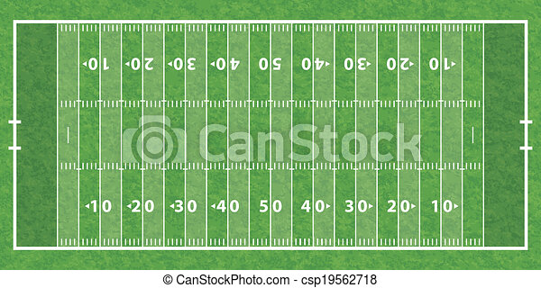 American Football Field - csp19562718