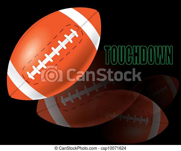American football - csp10071624