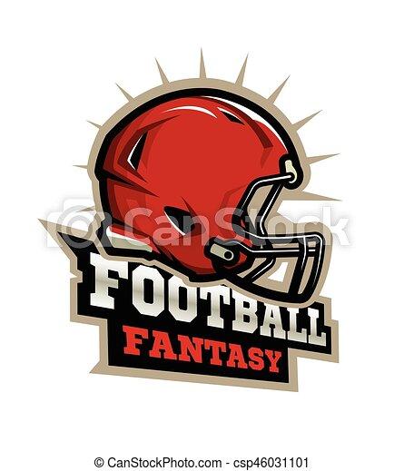 American Football Modern Logo American Football Modern Logo Fantasy