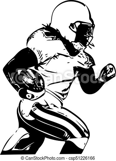 Professional Quarterback Illustrations And Clip Art 599