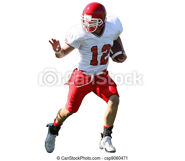 American Football Player - csp9060471