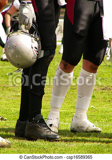 American football players  - csp16589365