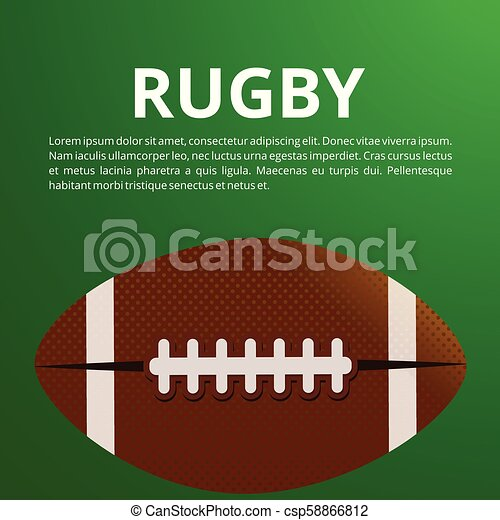 American Football Poster Banner And Brochure Template Vector Design