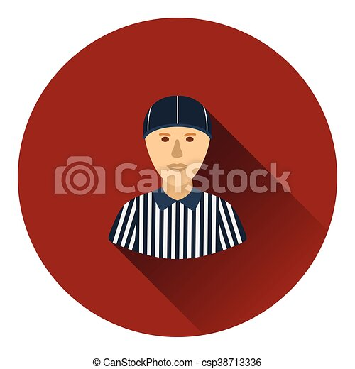 American football referee icon - csp38713336