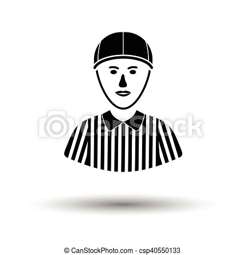 American football referee icon - csp40550133