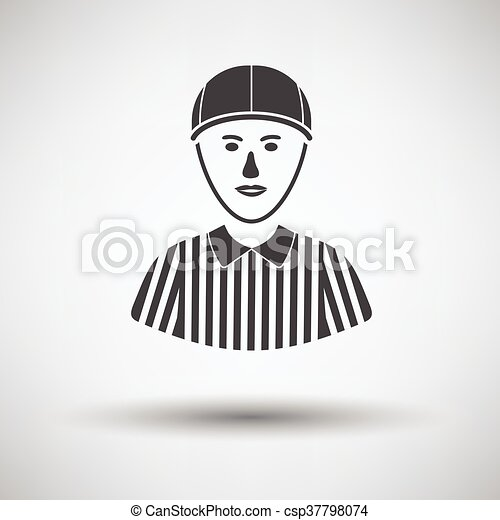 American football referee icon - csp37798074