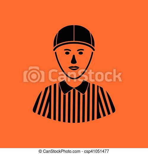 American football referee icon - csp41051477