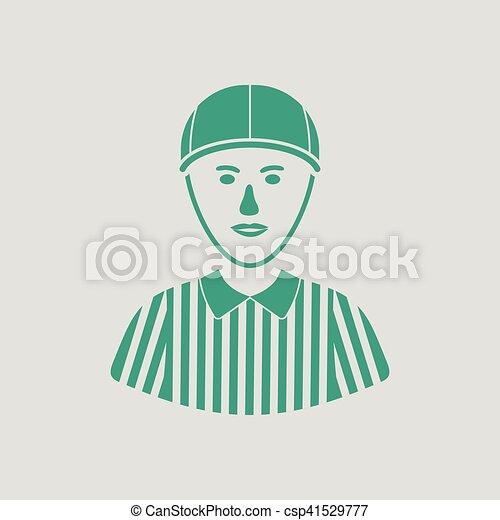 American football referee icon - csp41529777