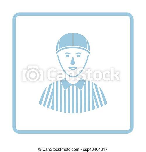 American football referee icon - csp40404317