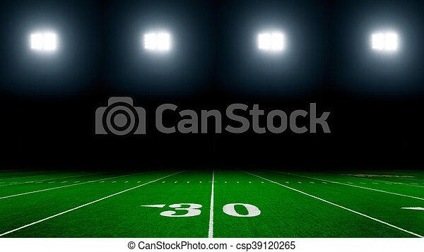 American football stadium - csp39120265
