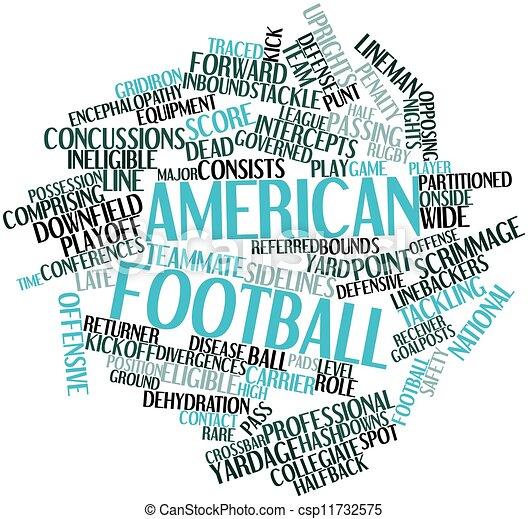 American football - csp11732575