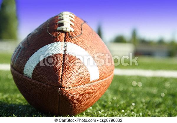 American football - csp0796032
