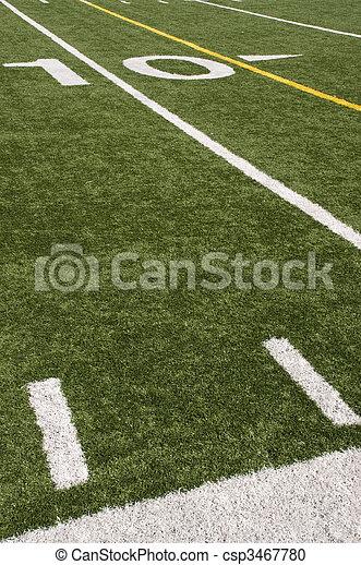 grass american football field. American Football - Csp3467780 Grass Field