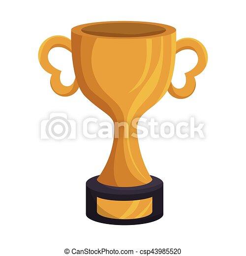 American Football Trophy Award Vector Illustration Design Rh Canstockphoto Com