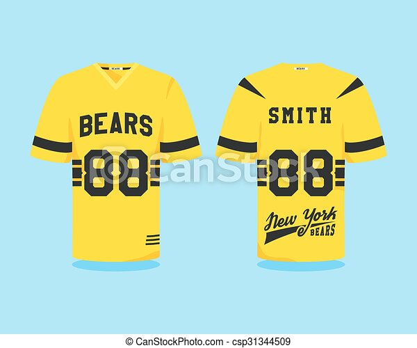 American football uniform fa804003c