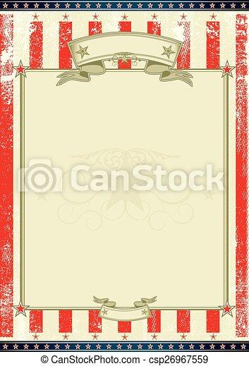 American frame - csp26967559